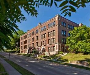 Building, Moline High School Lofts
