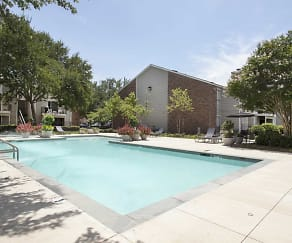 Pool, Raintree Apartments
