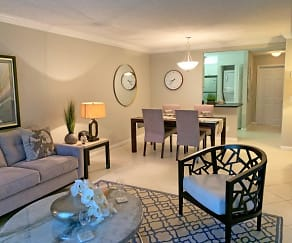 Living Room, Turnbury at Palm Beach Gardens