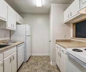 Kitchen, Fox Hill Apartments