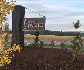 Community Signage, Villas at Hayden North
