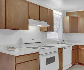 Kitchen, Woodland Park Apartments