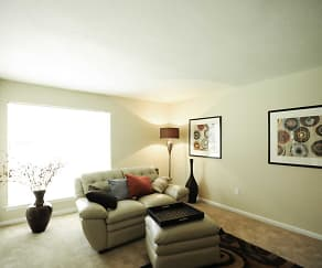 Living Room, Summer Trace Apartments