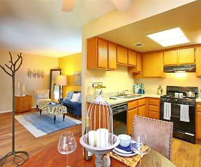 Kitchen, Tesoro Apartments
