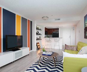 Living Room, Artists Village Apartments