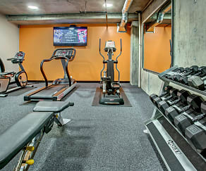 Fitness Weight Room, SK Apartments