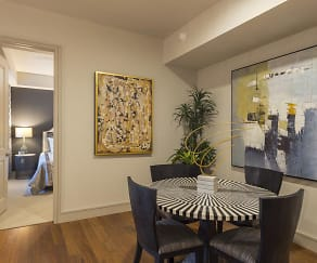 Dining Room, 2626 Lofts at Uptown