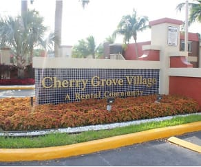 Community Signage, Cherry Grove Village