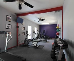 Fitness Weight Room, Woodland Trails
