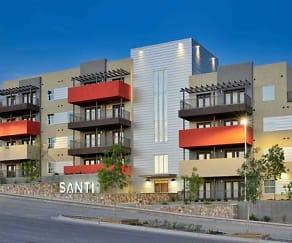 Building, Santi Dwellings At Montecillo