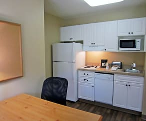 Kitchen, Furnished Studio - Washington, D.C. - Chantilly - Airport