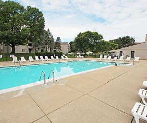 Pool, Pine Hill Apartments