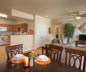 Dining Room, Villas in Westover Hills