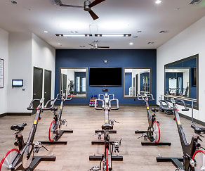 Fitness Weight Room, AMLI Cherry Creek