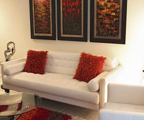 Living Room, Cordoba Luxury Rentals