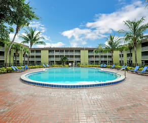 Pool, Coronado Springs Apartments