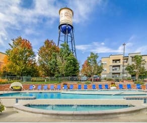 Pool, Water Tower Flats