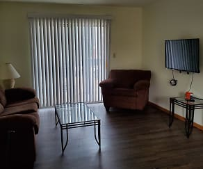 Living Room, 705 South First Street Apartments