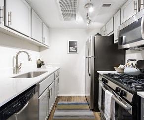 Kitchen, Vertu Apartments
