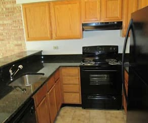 Kitchen, Abbey at Four Lakes