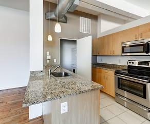 Kitchen, Union Penn Lofts