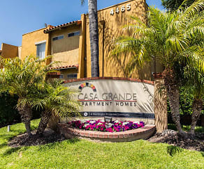 Community Signage, Casa Grande Apartments