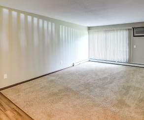 Living Room, Birch Park Apartments