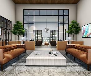 Living Room, Azure
