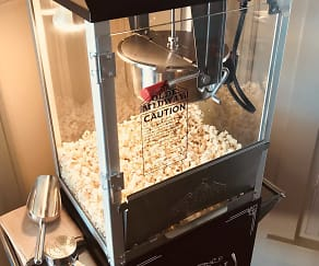 We're popping corn at Tradition today!  Come in and taste our fresh popcorn at The Club, from our NEW Olde Midway Vintage Style Popcorn Machine!, Tradition At Palm Aire