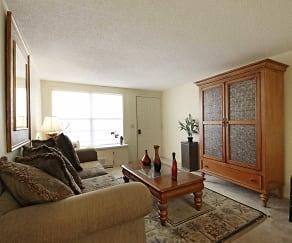 Living Room, Morningside Apartments