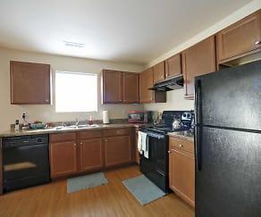 Kitchen, Kinway Apartments