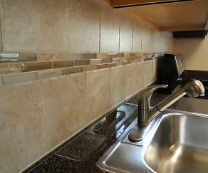 Kitchen, Yorkewood Apartments