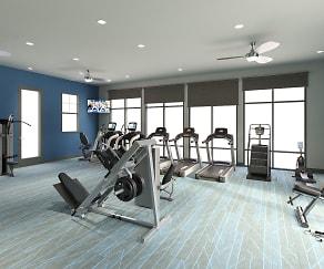 Fitness Weight Room, Volaris West Kernan