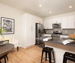 Kitchen, Sorano Apartments