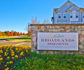 Broadlands Entrance, Broadlands Apartments