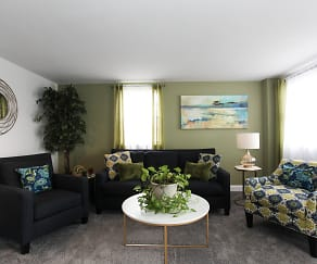 Living Room, Hollinswood Townhouses