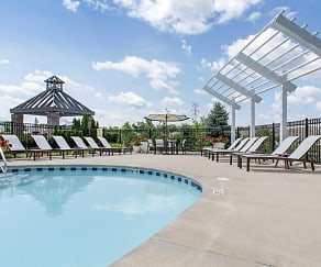Pool, Glenbridge Manors Luxury Apartments