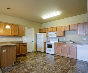 Kitchen, Raven Ridge Apartments
