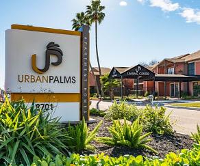 Community Signage, Urban Palms