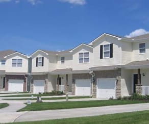 Building, The Townhomes at Holly Ridge