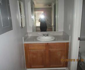 Bathroom, Cypress Cove Apartments