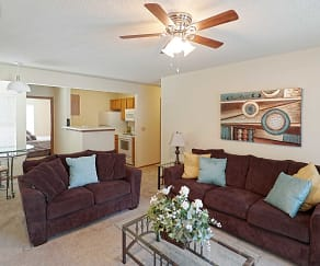Living Room, Northpark Residences
