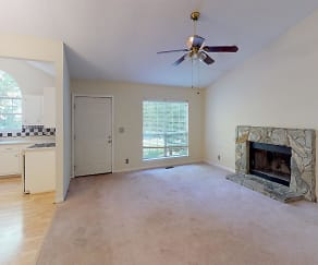Living Room, 1102 Summit Drive