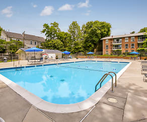 Pool, Lee Square Apartments