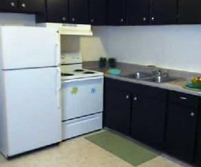 L-shaped Kitchen, Vantage Apartments