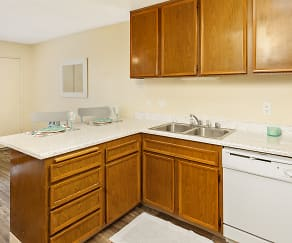 Kitchen, Hardy Avenue Apartments