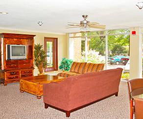 Living Room, Rosecrest at Lennox Midtown