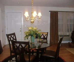 Dining Room, Orchard Street Apartments