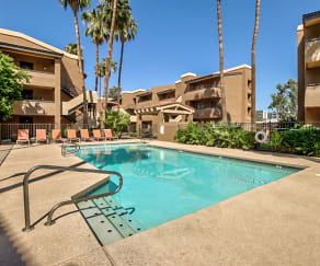 Pool, Villas on Apache ASU Off Campus Housing (By-the-Bed Pricing)