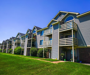 Building, Pine Knoll Apartments
